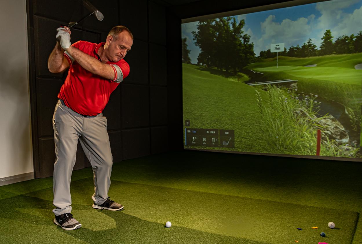 Next Level Golf practice